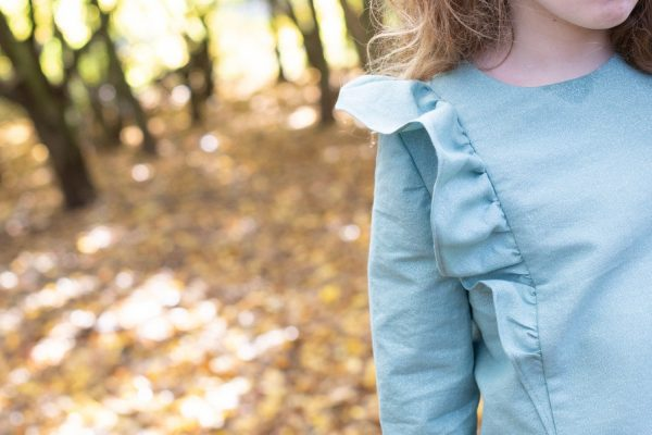 Alice dress and top sewing pattern from Bobbins and Buttons