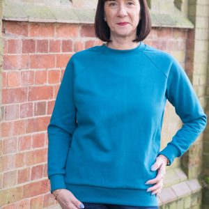 Ladies Lynn sweatshirt from Bobbins and Buttons