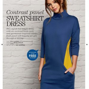 sweater dress for sale from Bobbins and Buttons