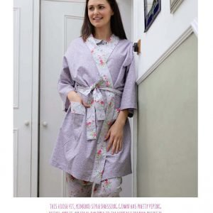 kimono dressing gown from Bobbins and Buttons
