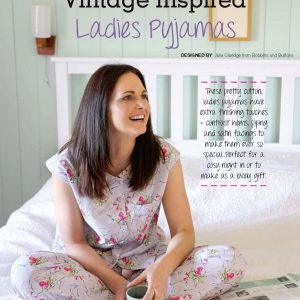 ladies pyjamas from Bobbins and Buttons