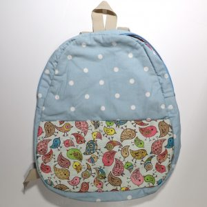 kids cotton back pack set from Bobbins and Buttons