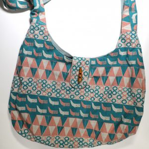 slouch bag from Bobbins and buttons