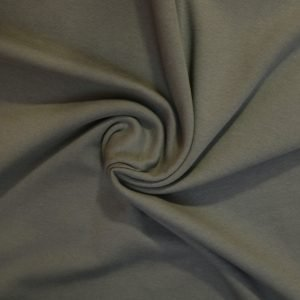 khaki french terry from Bobbins and buttons