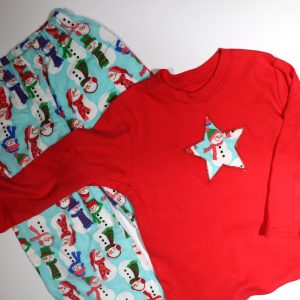 kids Christmas Pyjamas from Bobbins and Buttons