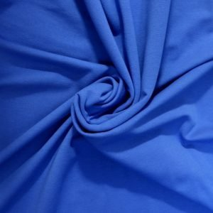 royal blue french terry from Bobbins and buttons