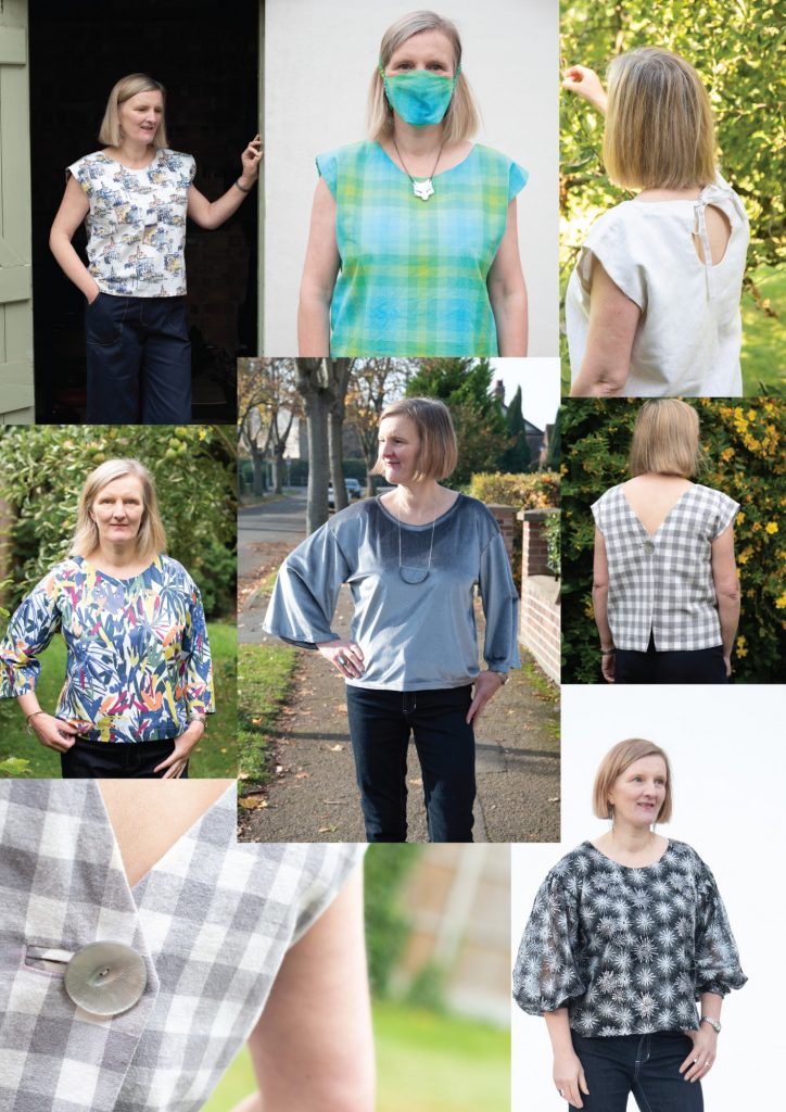 Boxy top patterns free from Bobbins and Buttons