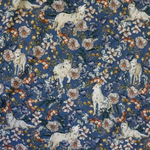 arctic wolves viscose from Bobbins and Buttons