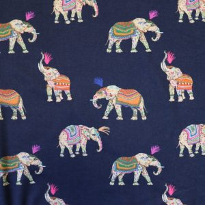 India's sacred viscose jersey from Bobbins and buttons