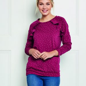 top as featured in Love sewing magazine