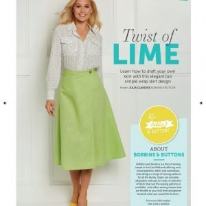 wrap around skirt from Bobbins and buttons
