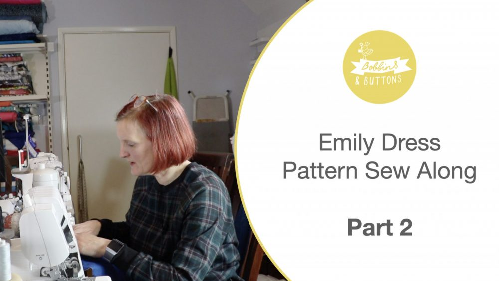 Emily dungaree dress pattern – Sewalong part 2
