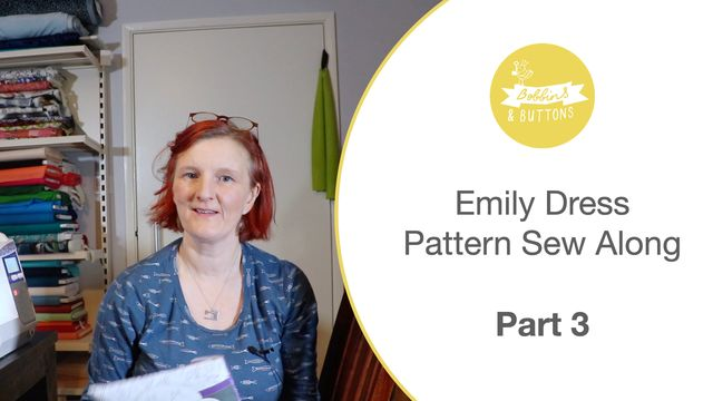 Emily dungaree dress pattern – Sewalong part 3