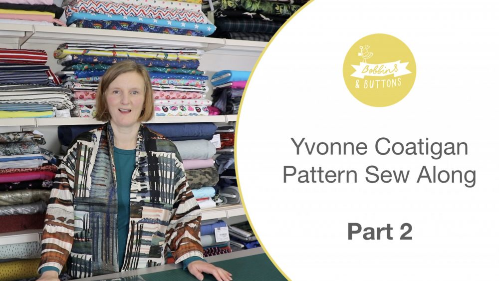Yvonne coatigan –  Sewalong part 2