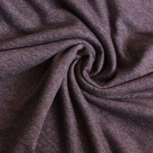 Aubergine marl alpen fleece from Bobbins and buttons