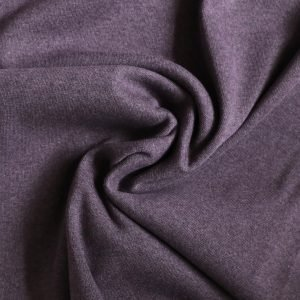 Aubergine marl rib from bobbins and buttons