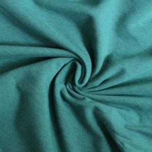 jade green marl sweatshirt fabric from Bobbins and buttons