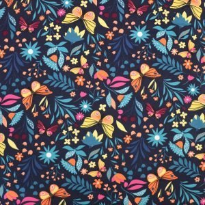 french terry fabric from Bobbins and buttons