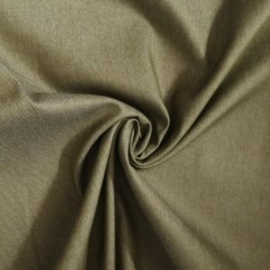 Khaki denim fabric from Bobbins and buttons online shop