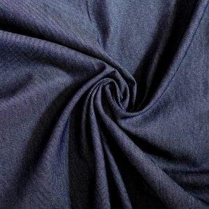 indigo denim fabric from Bobbins and buttons online shop