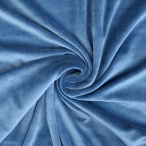 stretch cotton velvet from Bobbins and Buttons online shop