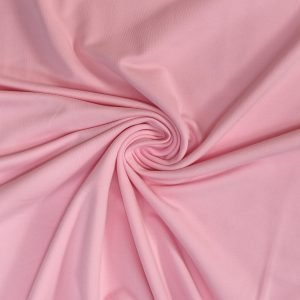 pale pink french terry fabric from Bobbins and buttons online shop
