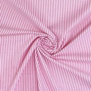 striped cotton fabric from Bobbins and Buttons