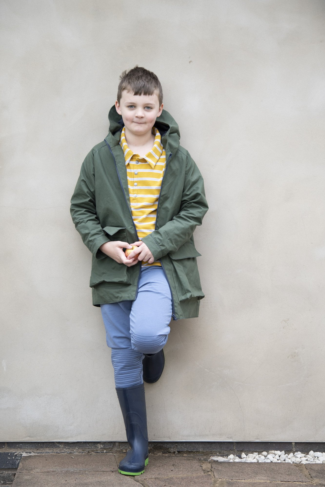 David raincoat pattern from Bobbins and buttons