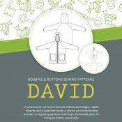 David raincoat sewing pattern from Bobbins and Buttons