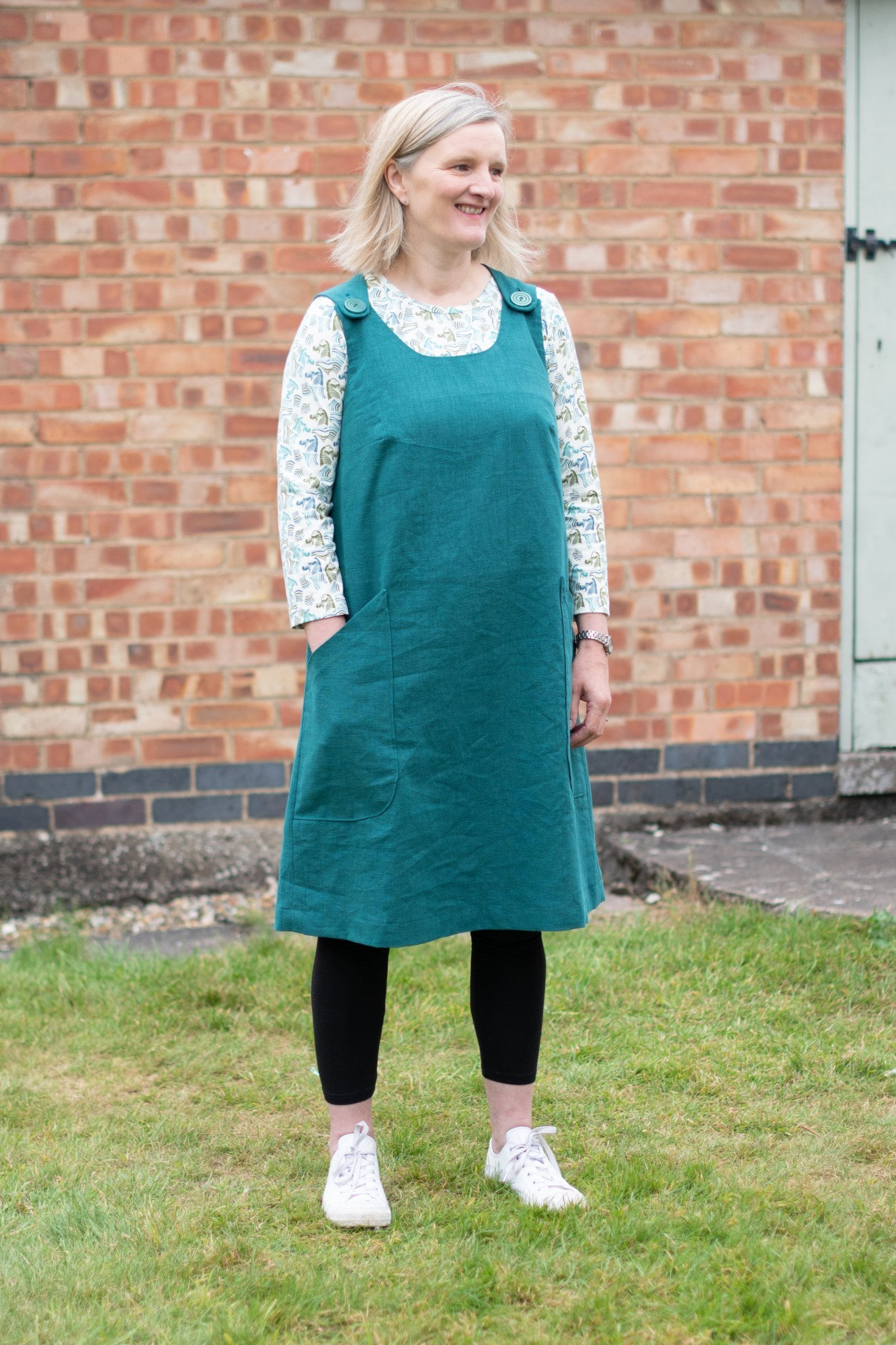 Jayne dress sewing pattern from Bobbins and Buttons