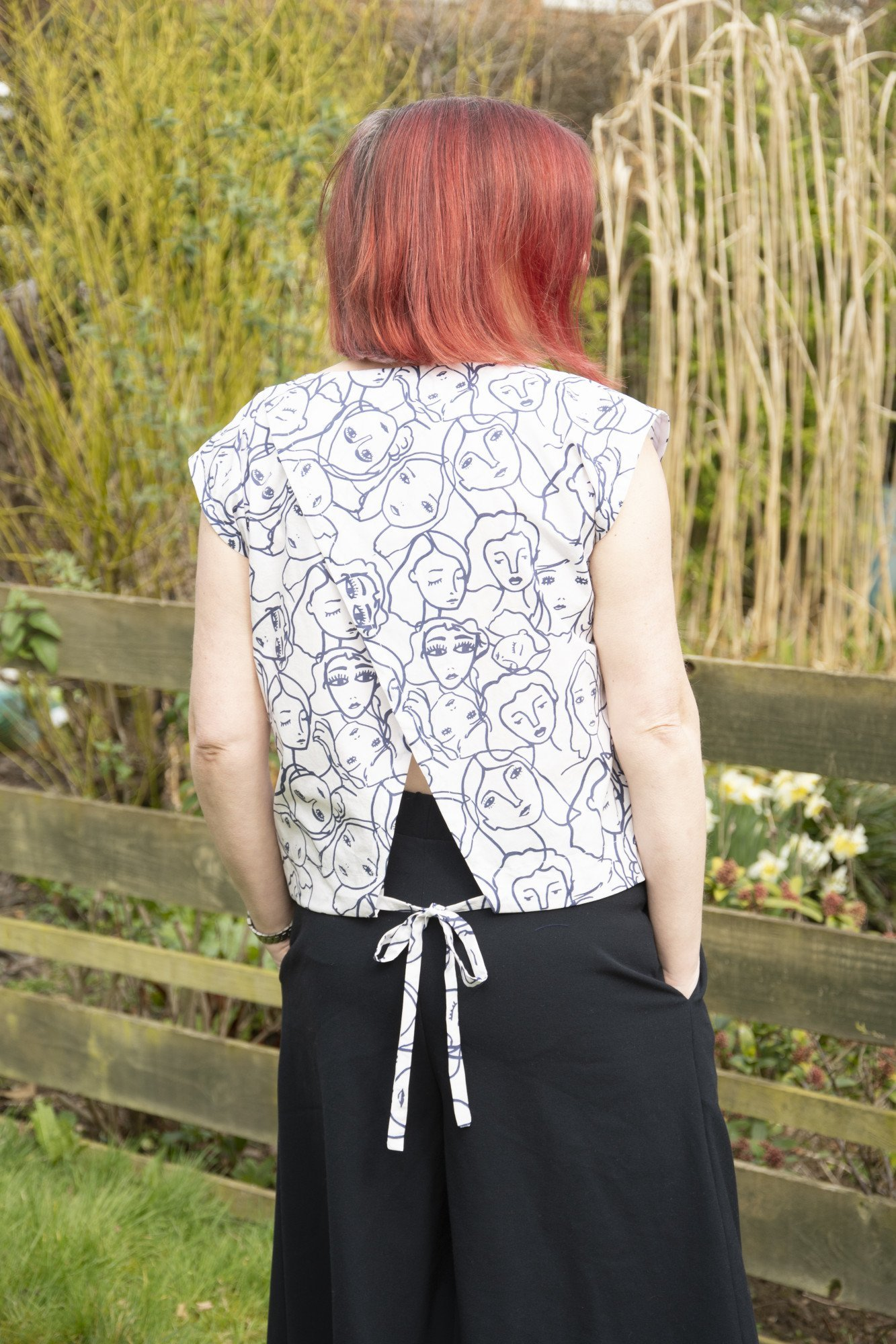 Subscribers free sewing pattern from Bobbins and Buttons