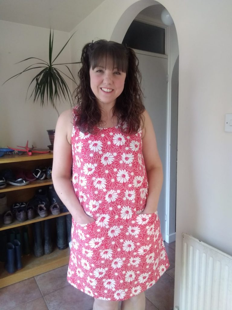 Jayne dress pattern from Bobbins and Buttons