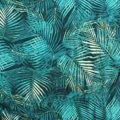 Art gallery palm paradise viscose from Bobbins and Buttons
