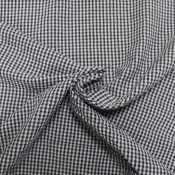 navy and white check seersucker from Bobbins and Buttons