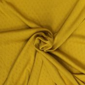 mustard pointelle from Bobbins and Buttons