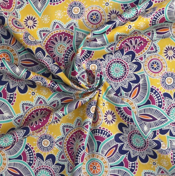 Makower fabric from Bobbins and buttons