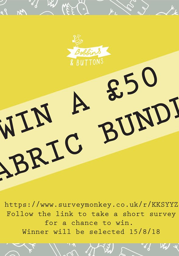 win a bundle of fabric